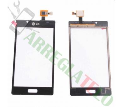 Touchscreen Digitizer voor LG Optimus L7 P700 P705 Zwart Zwart LG - 1