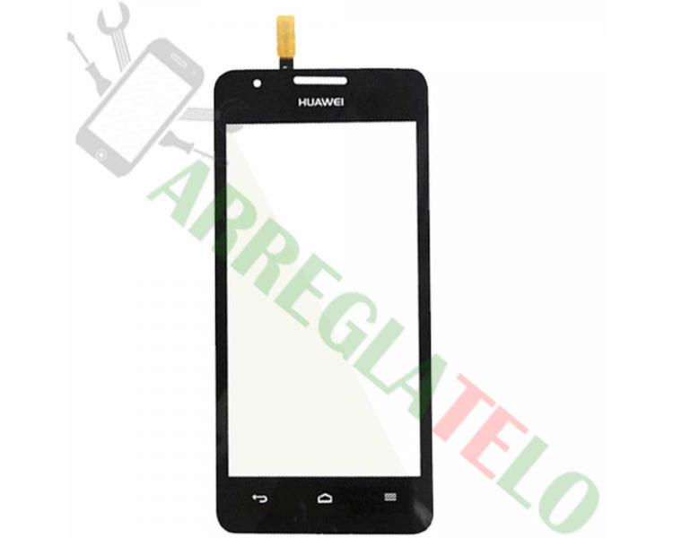 Touch Screen Digitizer for Huawei Ascend G510 U8951, Orange Daytona | Color Black Huawei - 1