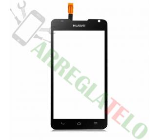 Digitalizzatore Touch Screen per Huawei Ascend Y530 Nero Nero