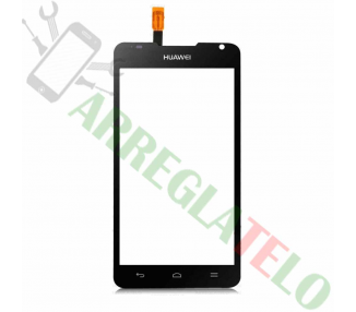 Touchscreen Digitizer voor Huawei Ascend Y530 Zwart Zwart