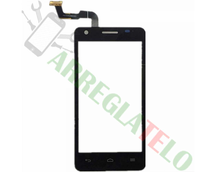 Touch Screen Digitizer for Vodafone Smart 4 TURBO 890N   Color Black