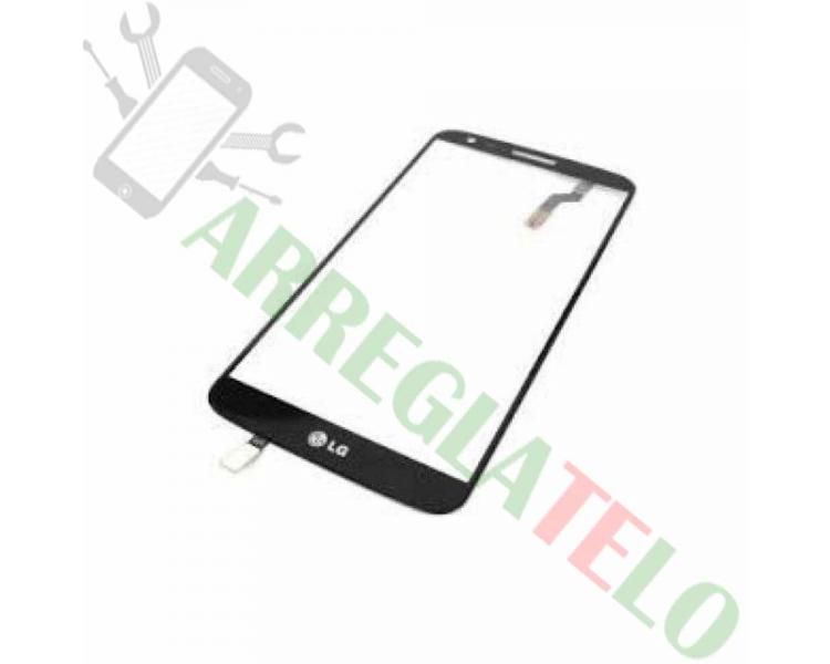 Touch Screen Digitizer voor LG G2 D802 Zwart Zwart LG - 1