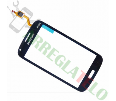 Digitizer touchscreen voor Samsung Galaxy Core Duos i8260 i8262 Blauw ARREGLATELO - 1