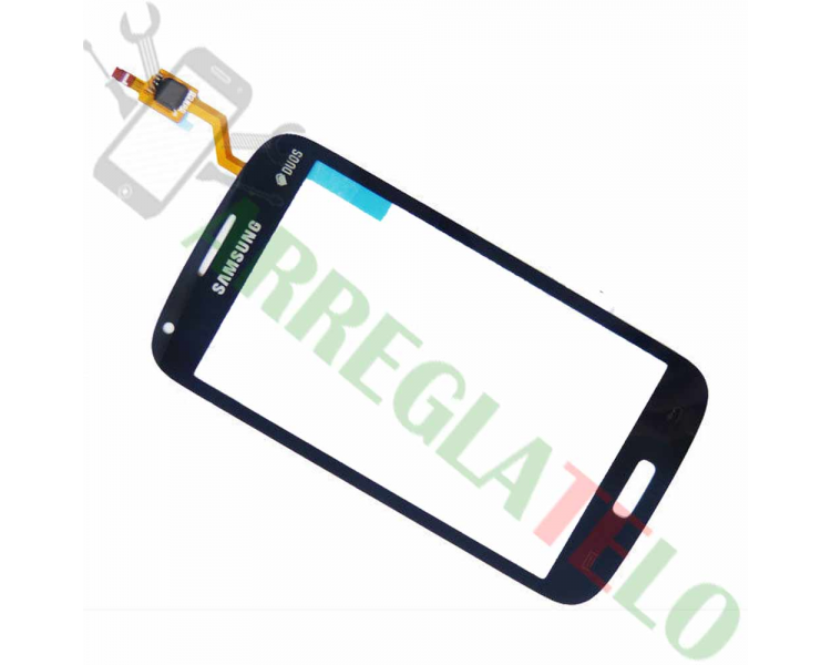 Touch Screen Digitizer for Samsung Galaxy Core Duos i8260 i8262 | Color Blue ULTRA+ - 1