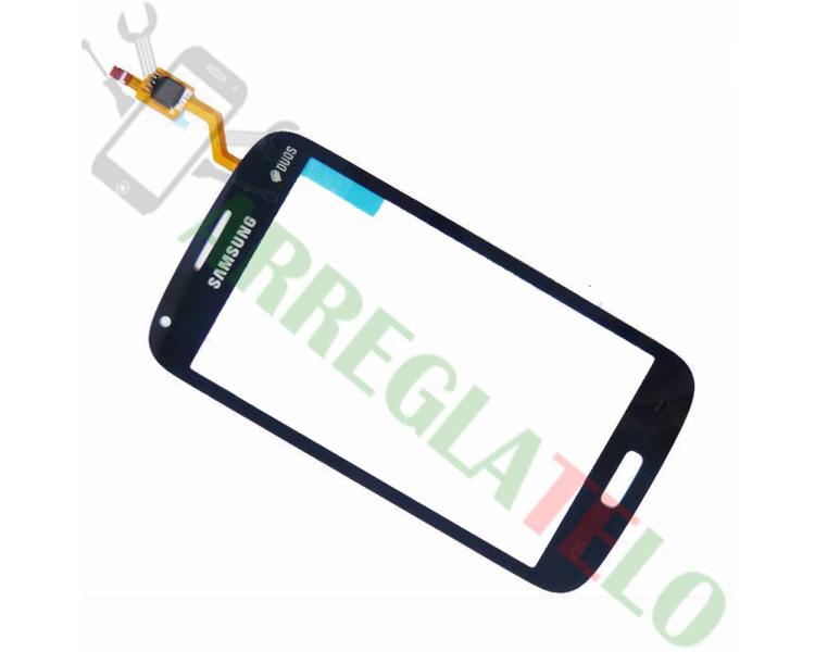 Touch screen digitalizzatore per Samsung Galaxy Core Duos i8260 i8262 blu ARREGLATELO - 1