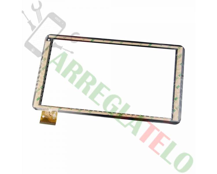 Touchscreen Digitizer voor Woxter Tab 10.1 QX105 ZHC-0364B Zwart _ - 1