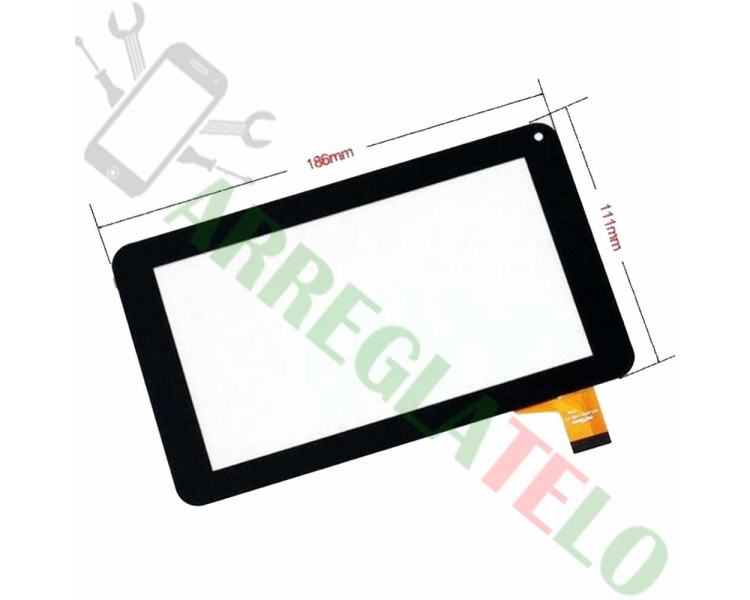 Touch Screen Digitizer for PRIXTON T7005 SALTY 7"