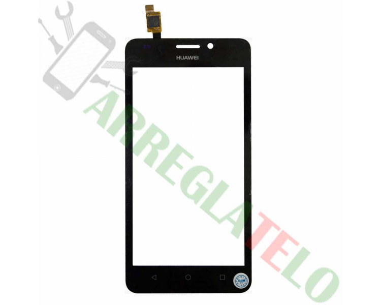 Touch Screen Digitizer voor Huawei Ascend y635 Zwart Zwart Huawei - 1
