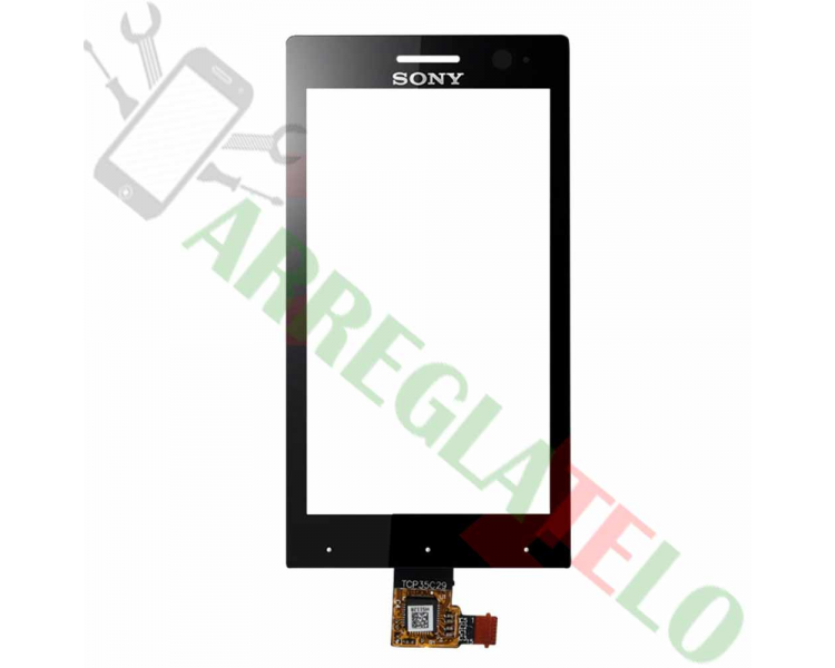 Touch Screen Digitizer for Sony Xperia U ST25 ST25i | Color Black Sony - 1