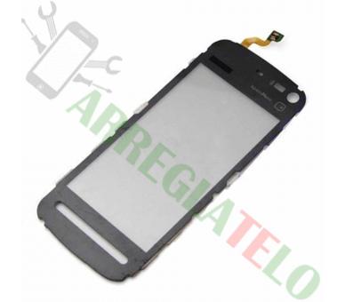 Digitalizzatore touch screen per Nokia 5800 nero nero Nokia - 1