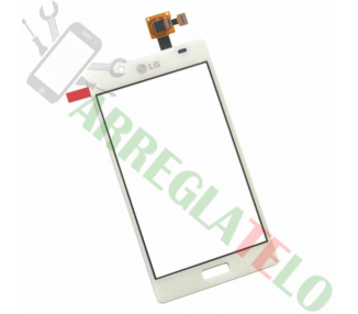 Touch Digitizer Vetro per LG Optimus L7 P700 P705 Bianco