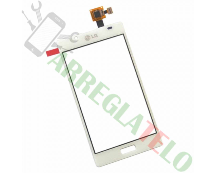 Digitizer z ekranem dotykowym do LG Optimus L7 P700 P705 White White