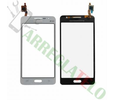 Ekran dotykowy do Samsung Galaxy Grand Prime G530 G530F Biały Biały ARREGLATELO - 1