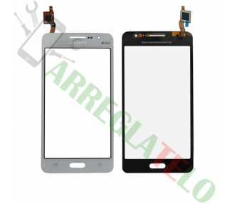 Touch Digitizer Vetro per Samsung Galaxy Grand Prime G530 G530F Bianco