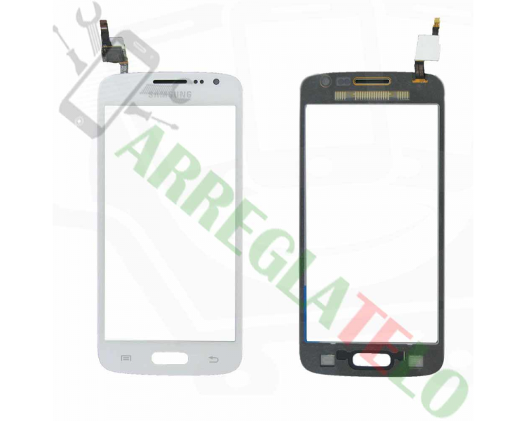 Touch Screen Digitizer for Samsung Galaxy Core 4G G386 Avant   Color White
