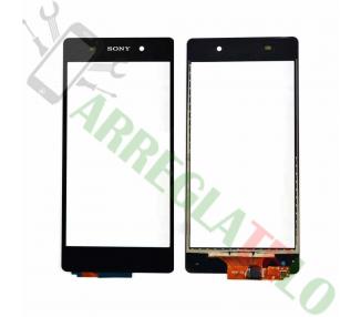 Touchscreen-Digitalisierer für Sony Xperia Z L36H Schwarz Schwarz