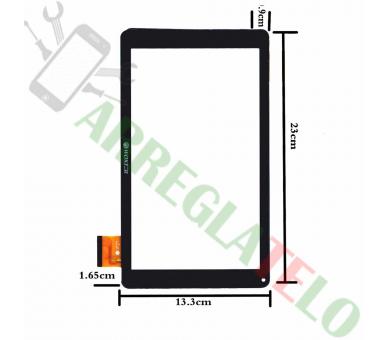 Touchscreen Digitizer voor Woxter Tab 10.1 QX105 ZHC-0364A Zwart _ - 1