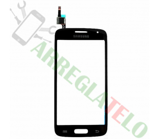 Touch Digitizer Vetro per Samsung Galaxy Core 4G G386 Avant Nero