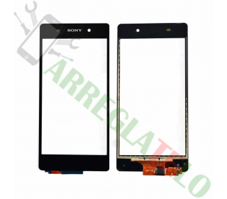 Touch Screen Digitizer per Sony Xperia Z2 D6502 L50W Nero Nero