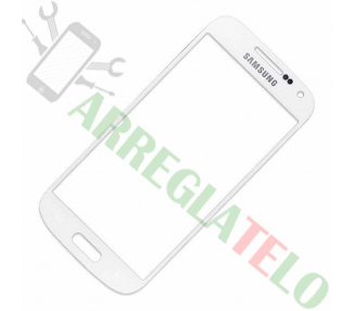 Touch Digitizer Vetro per Samsung Galaxy S4 Mini SIV I9190 I9195 Bianco