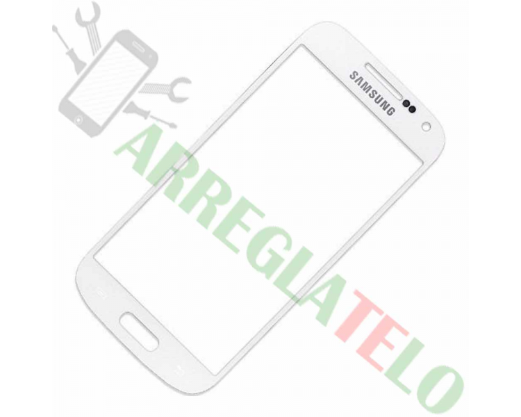 Touch Digitizer Vetro per Samsung Galaxy S4 Mini SIV I9190 I9195 Bianco ULTRA+ - 1