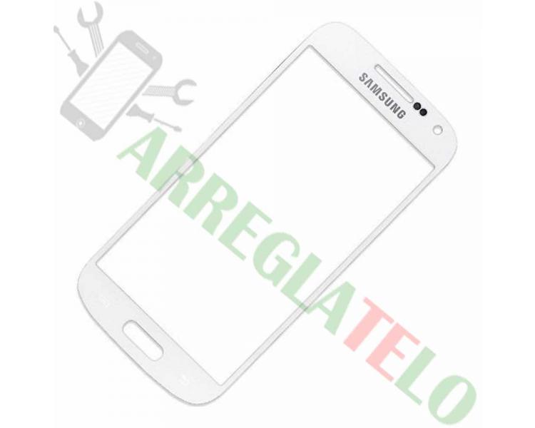 Touch Screen Digitizer for Samsung Galaxy S4 Mini SIV I9190 I9195   Color White ARREGLATELO - 1