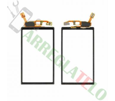 Ekran dotykowy do Sony Ericsson Xperia Neo V MT11 MT15i Czarny Czarny Sony - 1
