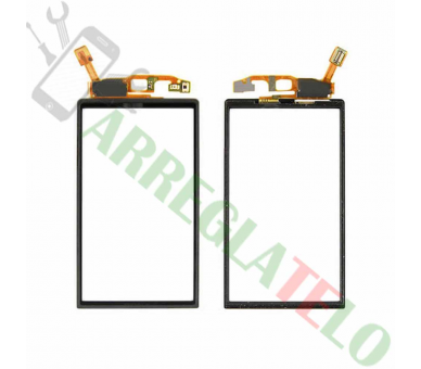 Touch Screen Digitizer for Sony Ericsson Xperia Neo V MT11 MT15i | Color Black Sony - 1