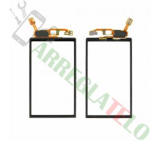 Touchscreen voor Sony Ericsson Xperia Neo V MT11 MT15i Zwart Zwart