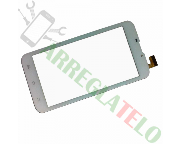 Touch Screen Digitizer voor Airis TM60D Szenio Syreni 61QHDII Wit Airis - 1