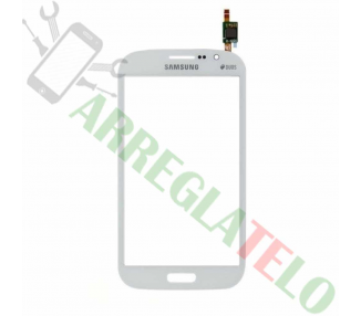 Touch Digitizer Vetro per Samsung Galaxy Grand Neo Plus i9060 Bianco