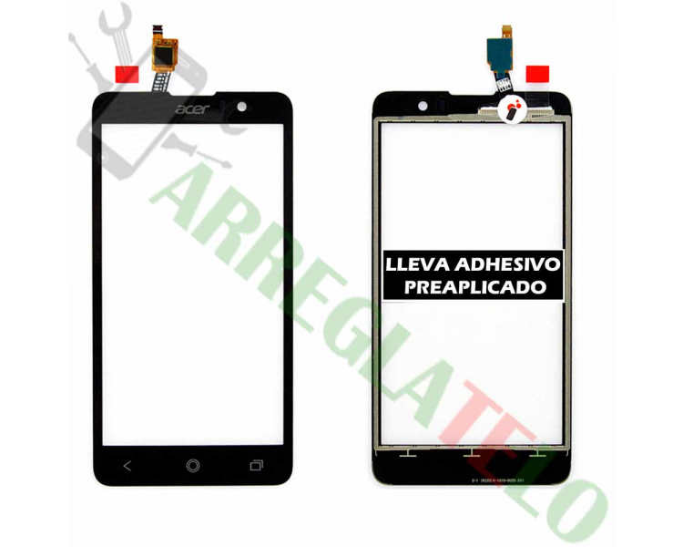 Touch Screen Digitizer for Acer Liquid Z520 | Color Black Acer - 1