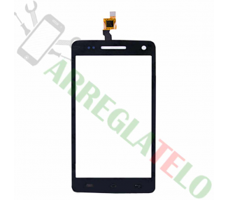 Touch Digitizer Vetro per Wiko Rainbow Nero