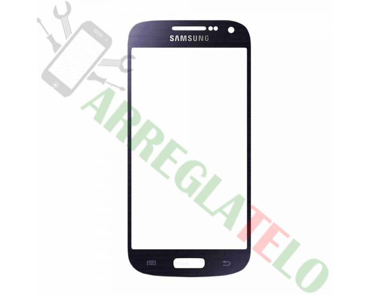 Touch Screen Digitizer for Samsung Galaxy S4 Mini i9190 i9195 | Color Blue ARREGLATELO - 1