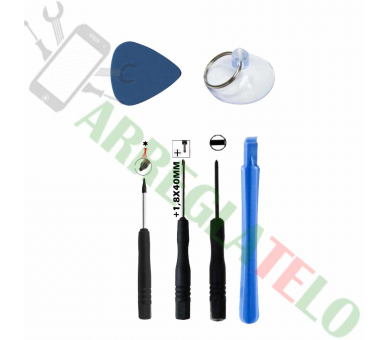 Kit Basico de Herramientas para Montaje / Desmontaje de pantallas de movil - 1