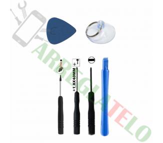 Basisset met gereedschappen voor montage / demontage van mobiele schermen ARREGLATELO - 1