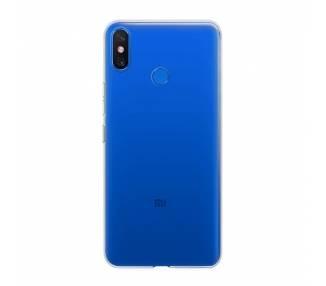 Funda Silicona Xiaomi Mi Max 3 Transparente Ultrafina