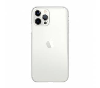 Funda Silicona iPhone 12 Pro Max Transparente Ultrafina