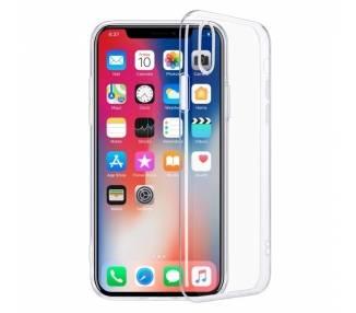 Funda Silicona iPhone 12 Mini Transparente Ultrafina