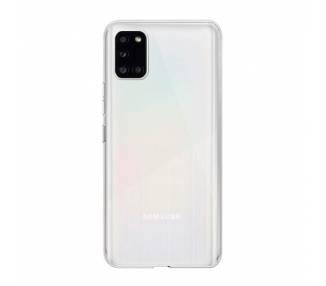 Funda Silicona Samsung Galaxy A31 Transparente Ultrafina
