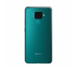 Funda Silicona Huawei Mate 30 Lite Transparente Ultrafina