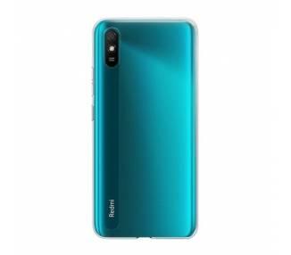 Funda Silicona Xiaomi Redmi 9A Transparente Ultrafina