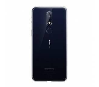 Funda Silicona Nokia 7.1 Plus Transparente Ultrafina