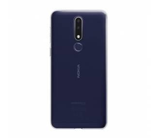 Funda Silicona Nokia 3.1 Plus Transparente Ultrafina