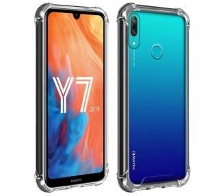 Funda Antigolpe Huawei Y7 2019 Gel Transparente con esquinas Reforzadas