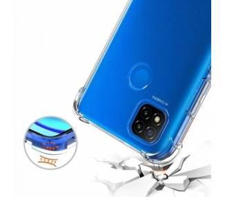 Funda Antigolpe Samsung Galaxy M20 Gel Transparente con esquinas Reforzadas