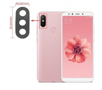 Back Camera Glass voor Xiaomi Mi A2 6X MiA2