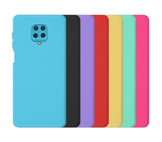 Funda Silicona Suave Xiaomi Redmi Note 9S/9 Pro con Camara 3D - 7 Colores ARREGLATELO - 1