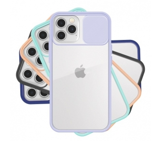 Funda Gel Iphone 12 / 12 Pro con cámara Cubierta Deslizante ARREGLATELO - 1