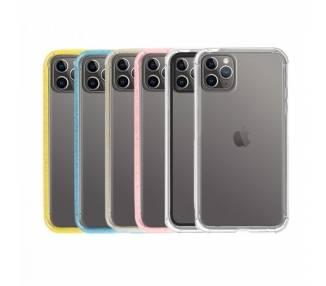 Funda Gel iPhone 11 PRO MAX 6.5 UpCase con borde de color ARREGLATELO - 1